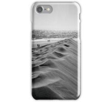 WALKING THE BEACH iPhone Case/Skin