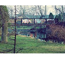 Rural Graffiti Photographic Print