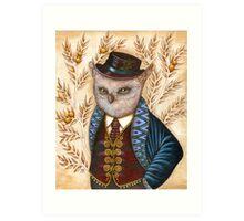 Wind King Art Print