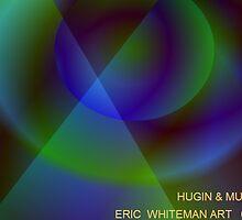 ( HUGIN  & MUNIN ) ERIC WHITEMAN ART  by eric  whiteman