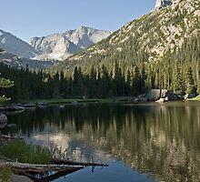 Longs Peak by Luann wilslef