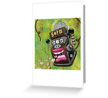 Ape $hit Greeting Card