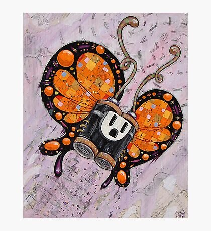 BatterFly Photographic Print