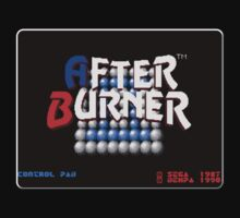 After Burner Genesis Megadrive Sega Start menu screenshot by ruter