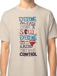 AJJ Hand Drawn Typography Classic T-Shirt