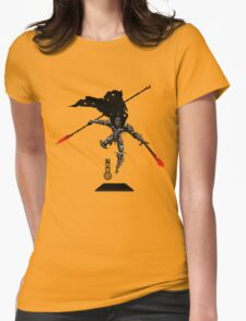 The Game of Kings, Wave Three: The Black King-Knight's Pawn Womens Fitted T-Shirt