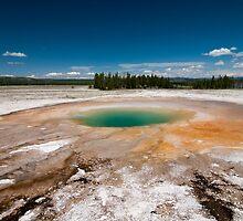Thermal Pool at Yellowstone by JimGuy