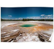 Thermal Pool at Yellowstone Poster