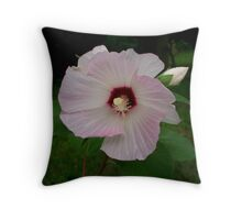 Barely Pink Throw Pillow