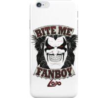 Lobo Bite Me Fanboy  DC comics  iPhone Case/Skin