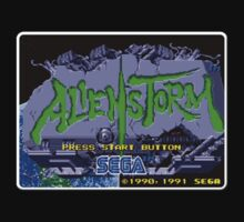 Alien Storm Genesis Megadrive Sega Start menu screenshot by ruter