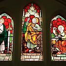 St. James Church Window by Karen E Camilleri