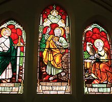 St. James Church Window by Karen E Camilleri