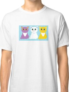 Only Three Cats Classic T-Shirt