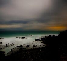 Cape Schank Late Night Long Exposure by Tony Lin