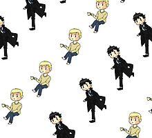 Little Sherlock & John by kitotekika