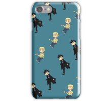 Little Sherlock & John iPhone Case/Skin