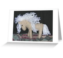 Dappled Pony Greeting Card