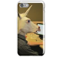 Unicorn in a cubicle #2 - the crushing of the soul iPhone Case/Skin