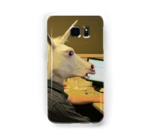 Unicorn in a cubicle #2 - the crushing of the soul Samsung Galaxy Case/Skin