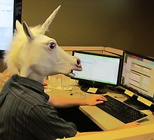 Unicorn in a cubicle #2 - the crushing of the soul by stlmoon