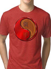 Tiger Yang Wood  Tri-blend T-Shirt