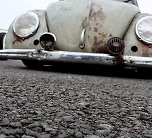 VW bug - low down by Perggals© - Stacey Turner