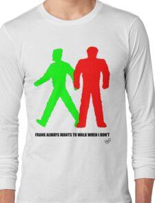 Walking man Long Sleeve T-Shirt