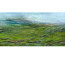 On the moor Photographic Print