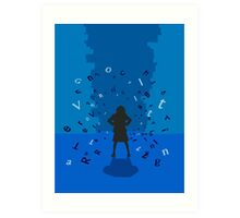 Matilda the Musical - To Change the World It Takes a Little Genius Art Print
