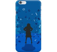 Matilda the Musical - To Change the World It Takes a Little Genius iPhone Case/Skin