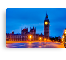 Big Ben By Night / Morning Canvas Print