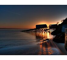 Tenby Sunrise by Mark Robson