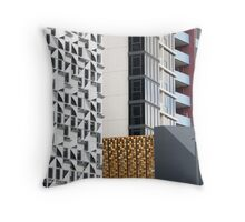 Curious Façades Throw Pillow