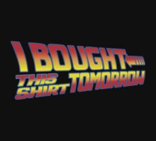 FUTURE SHIRT (Black)  by shirtcaddy