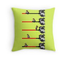Contraption  Throw Pillow