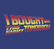 FUTURE SHIRT (Royal Blue Edition)  by shirtcaddy