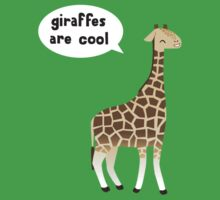 Giraffes are cool Baby Tee