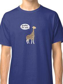 Giraffes are cool Classic T-Shirt