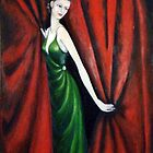 Lady in Green by Angelamc