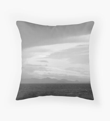 Sea, Land and Sky (Canary Islands) Throw Pillow
