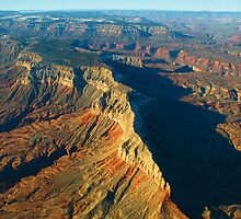 The Grand Canyon from the air by Paul Gilbert
