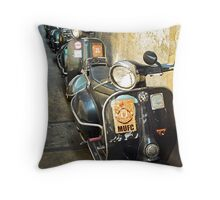 Vespa Throw Pillow