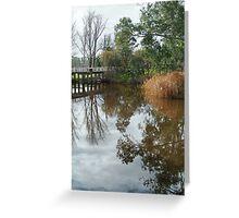 Seven Creek,Euroa Greeting Card