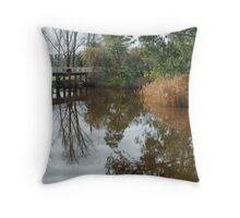 Seven Creek,Euroa Throw Pillow