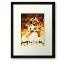 Bullet Gal #11 Framed Print