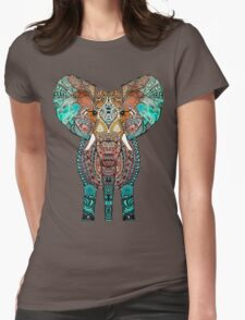 BOHO SUMMER ELEPHANT Womens Fitted T-Shirt