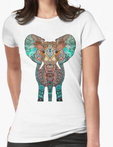 BOHO SUMMER ELEPHANT Womens Fitted T-Shirt