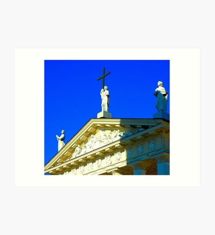 """Temples - """"The Cathedral of Vilnius (LT)"""" Art Print"""