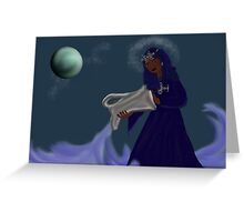 Lady of the Waters Greeting Card